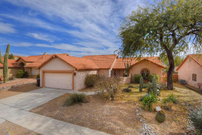 Tucson Single Family Home Active Contingent: 9876 N Longford Drive