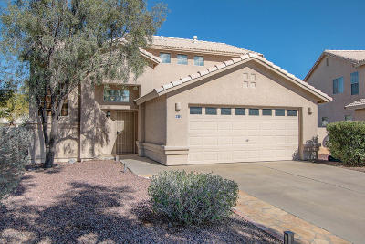 Tucson Single Family Home Active Contingent: 8610 N Kimball Way
