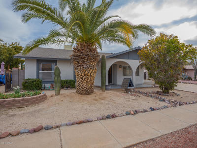 Tucson Single Family Home For Sale: 3061 W Wildwood Drive