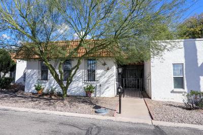 Tucson Townhouse For Sale: 660 E River Road #D