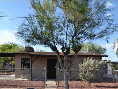 Tucson Single Family Home For Sale: 1346 W Franklin Street