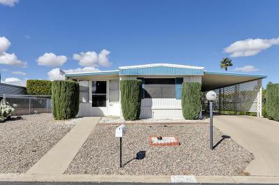 Corona De Tucson, Green Valley, Marana, Mt. Lemmon, Oro Valley, South Tucson, Tucson, Vail Manufactured Home For Sale: 166 W Palma Drive