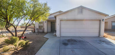 Pima County Single Family Home Active Contingent: 1411 W Bronte Place