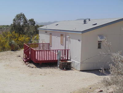 Pima County Manufactured Home For Sale: 4571 E Quail Ranch Drive