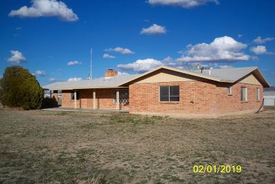 Cochise County Single Family Home For Sale: 2597 W Cox Road