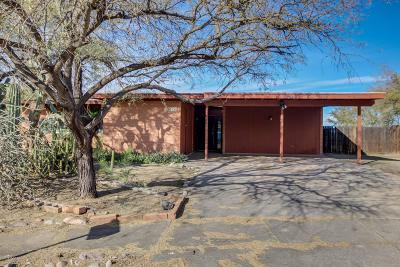 Tucson Single Family Home Active Contingent: 6955 N Galaxy Place