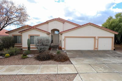 Tucson Single Family Home Active Contingent: 4111 W Tombolo Trail