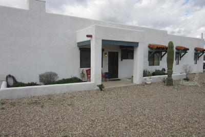 Tucson Single Family Home Active Contingent: 6585 N Silverbell Road