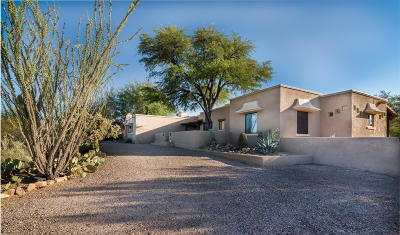 Tucson Single Family Home Active Contingent: 6160 W Peregrine Way