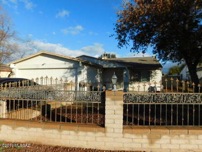 Pima County Single Family Home Active Contingent: 1960 W Chablis Place