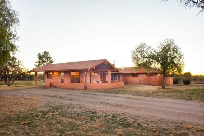 Pima County Single Family Home Active Contingent: 4655 S Mesquite Ranch Road