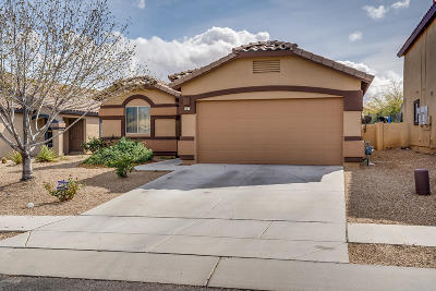 Pima County Single Family Home Active Contingent: 647 W Calle Tolmo