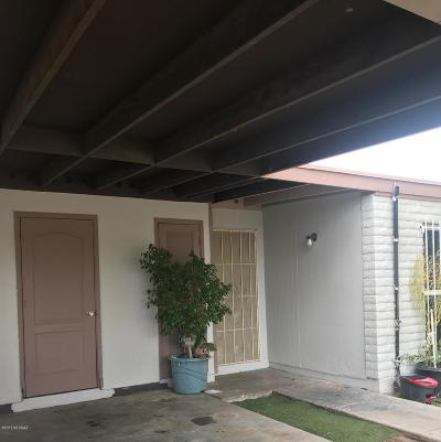 Pima County Townhouse For Sale: 959 W Wedwick Street