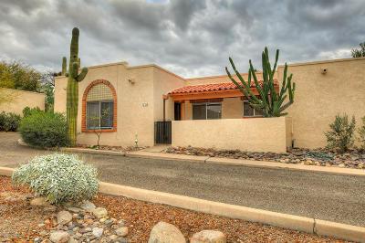 Tucson Townhouse For Sale: 5731 N Camino Esplendora