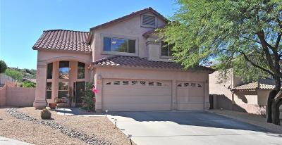 Tucson Single Family Home For Sale: 7792 E Sam Hill Place