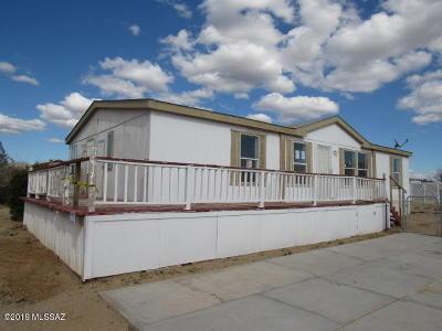 Corona De Tucson, Green Valley, Marana, Mt. Lemmon, Oro Valley, South Tucson, Tucson, Vail Manufactured Home For Sale: 3941 S Leonard Avenue