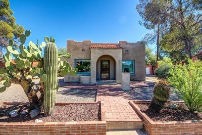 Tucson Single Family Home For Sale: 1334 N Campbell Avenue