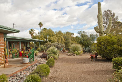 Tucson Single Family Home Active Contingent: 1622 N Pavo Place
