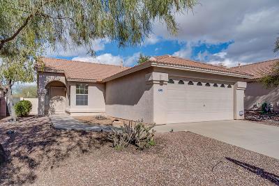 Tucson Single Family Home Active Contingent: 3232 W Donovan Drive