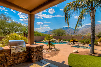 Tucson Single Family Home Active Contingent: 5375 N Ventana Overlook Place