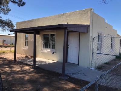 Pima County Single Family Home Active Contingent: 6968 S San Fernando Road