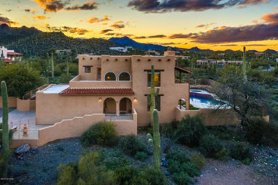 Tucson Single Family Home Active Contingent: 4666 W Crestview Circle