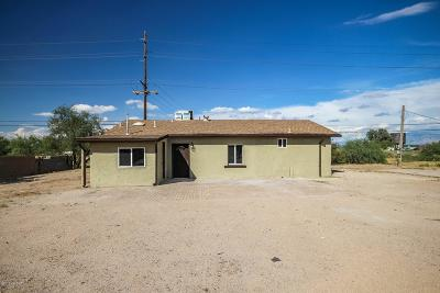 Marana Single Family Home Active Contingent: 8740 W Campbell Street
