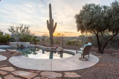 Oro Valley Single Family Home Active Contingent: 11381 N Twin Spur Court