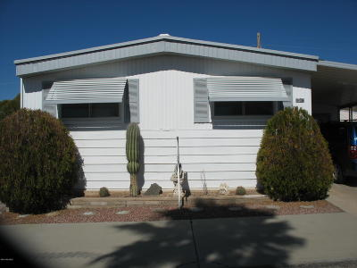 Pima County Manufactured Home For Sale: 5382 W Circle Z Street