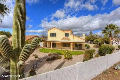 Tucson Single Family Home Active Contingent: 3351 W Canyon Flower Trail
