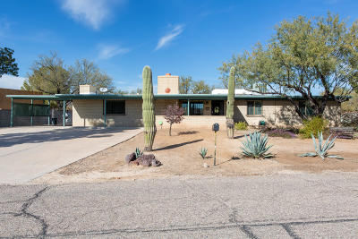 Tucson Single Family Home Active Contingent: 1036 W Placita Camillia