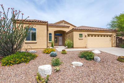Tucson Single Family Home For Sale: 15057 N Rugged Lark Drive