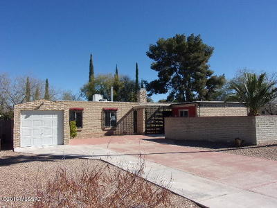 Tucson Single Family Home For Sale: 8873 E Old Spanish Trail