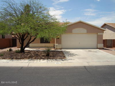 Tucson Single Family Home Active Contingent: 3051 W Autumn Breeze Drive