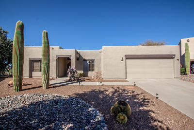 Tucson Single Family Home Active Contingent: 9293 N Montierra Place