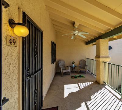 Pima County, Pinal County Condo For Sale: 7666 E 22nd Street #49