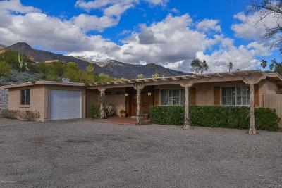 Tucson Single Family Home For Sale: 6252 N Camino Almonte