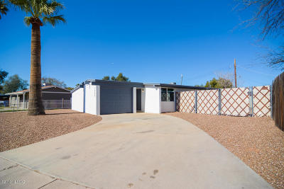 Tucson Single Family Home Active Contingent: 1522 W Mohave Road