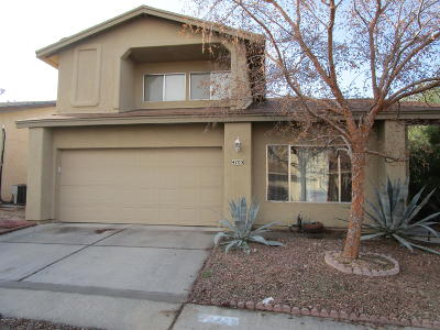 Tucson Single Family Home For Sale: 4705 W Globeberry Street