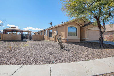 Pima County Single Family Home Active Contingent: 7682 S Bosworth Field Way