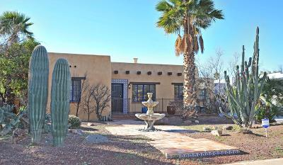 Tucson Single Family Home For Sale: 2910 E 2nd Street