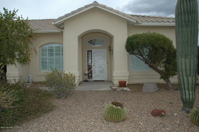 Oro Valley Single Family Home Active Contingent: 12550 N Copper Queen Way