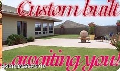 Elfrida Single Family Home For Sale: 5591 E Grassy Valley Road