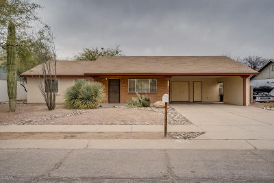 Tucson Single Family Home For Sale: 3180 W Wildwood Drive