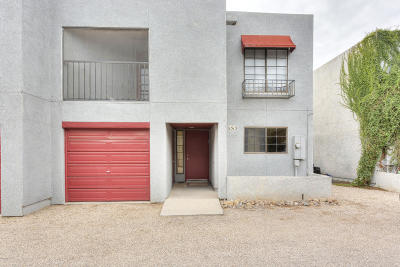 Tucson Townhouse For Sale: 1513 N Bryant Avenue