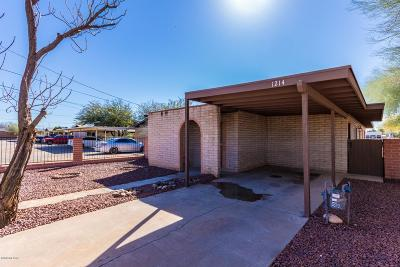 Tucson Single Family Home For Sale: 1214 E 24th Street