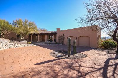 Tucson Single Family Home For Sale: 7661 E Canon De La Vista
