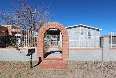 Pima County Manufactured Home For Sale: 2822 W Bilby Road