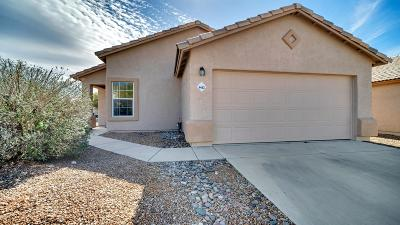 Tucson Single Family Home Active Contingent: 4463 W Holly Berry Way