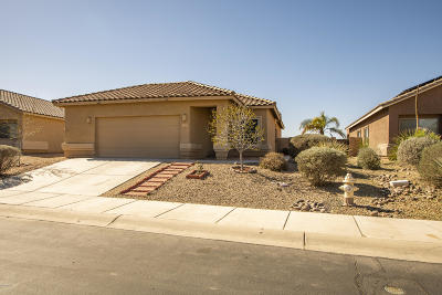 Marana Single Family Home Active Contingent: 11187 W Flycatcher Drive
